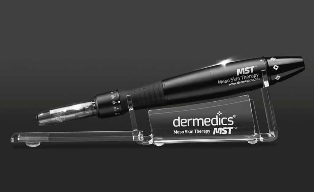 derma pen meso skin therapy aparatul cu microace cu care se realizeaza tratamentul