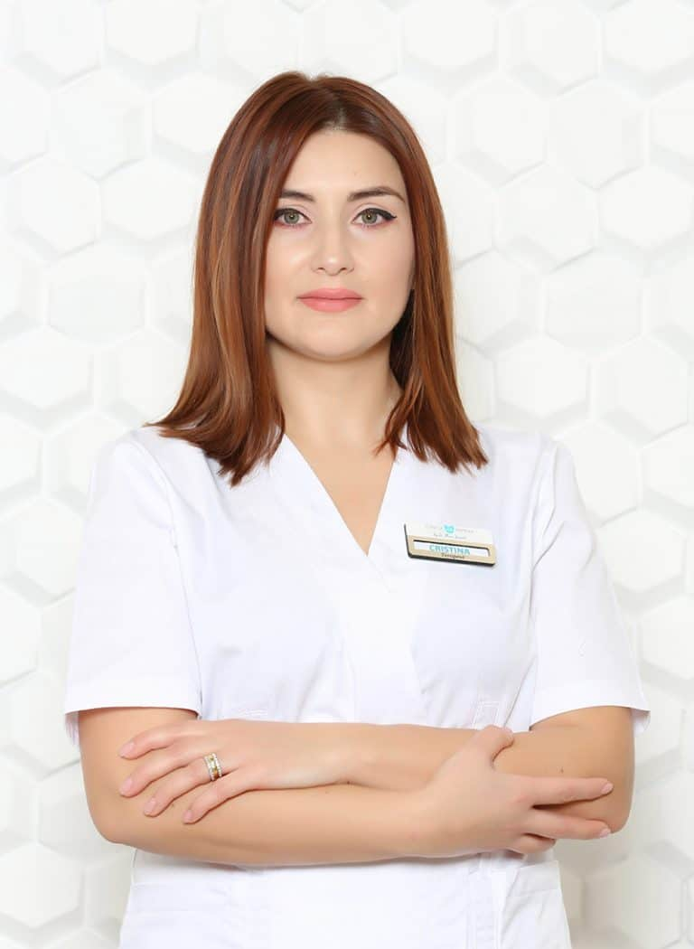 Cristina, terapeut skincare Clincia Statera