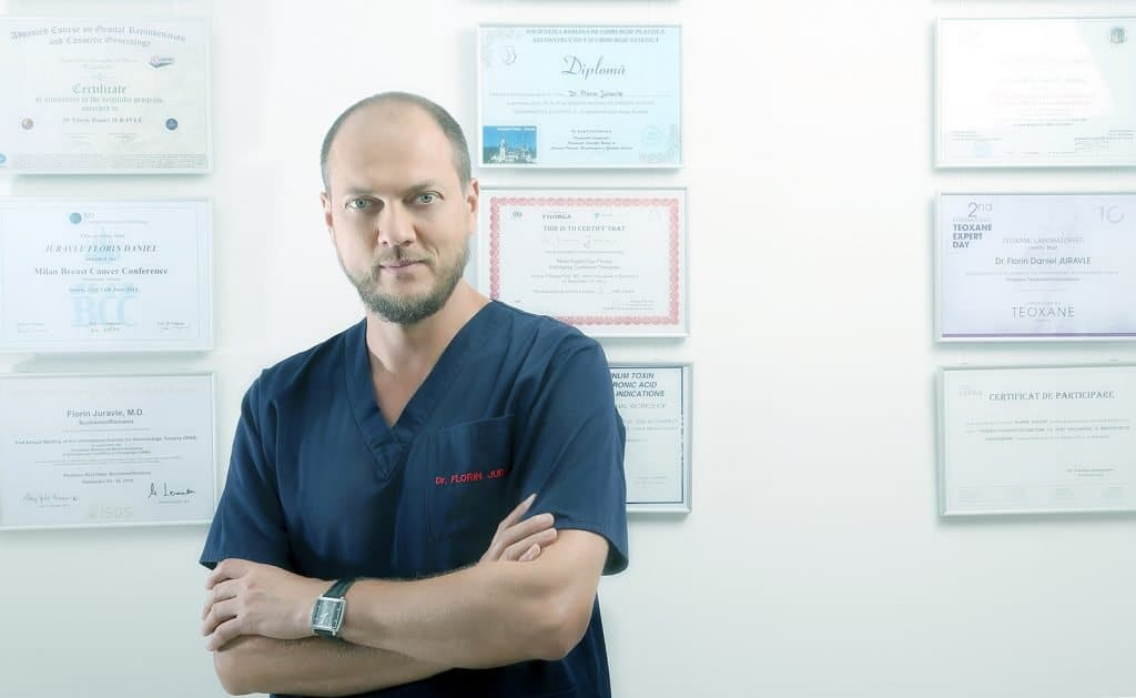 Dr Juravle, diplome specializari